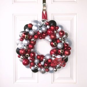 Other - NEW Handmade Christmas Ornament Wreath